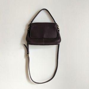 NWOT Coach Brown Leather Shoulder Bag Purse